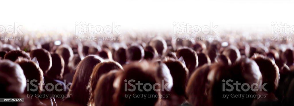 Große Gruppe von Menschen  Lizenzfreies stock-foto
