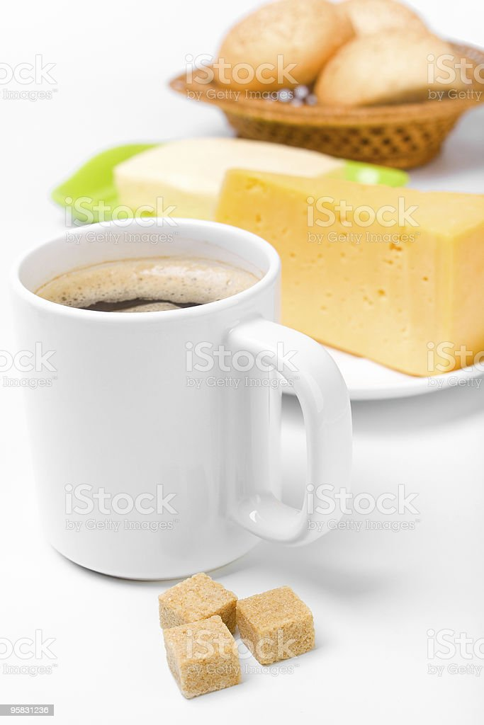 large cup of coffee royalty-free stock photo