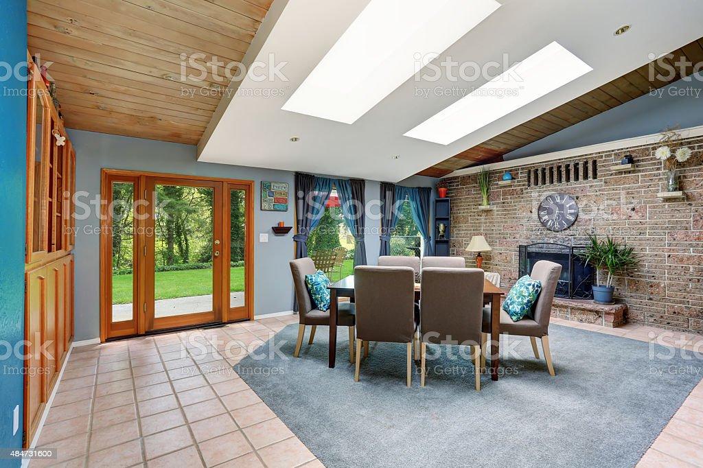 Pavimento in cucina e sala da pranzo il di stickerdesign