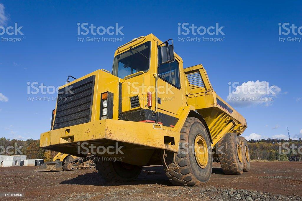 Large Dump Truck royalty-free stock photo