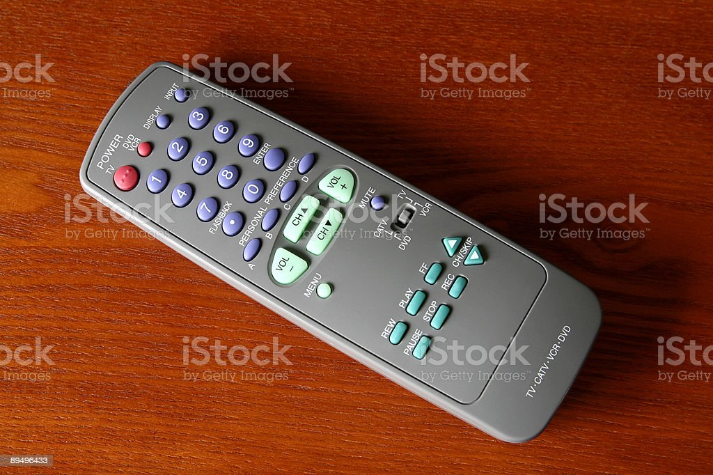 Large Electronic Remote royalty free stockfoto