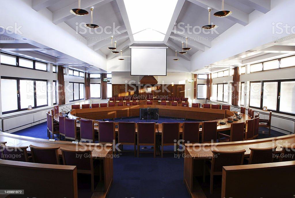 large empty board room
