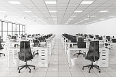 istock Large Empty Call Center Office 1279067794