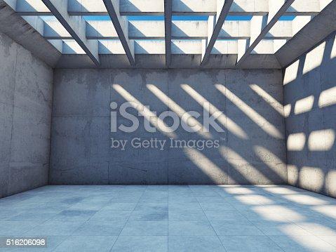 istock Large empty room 516206098