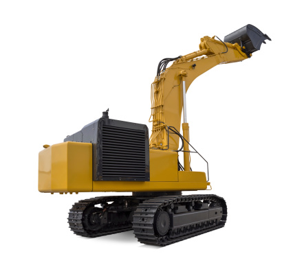 Large Excavator Stock Photo - Download Image Now