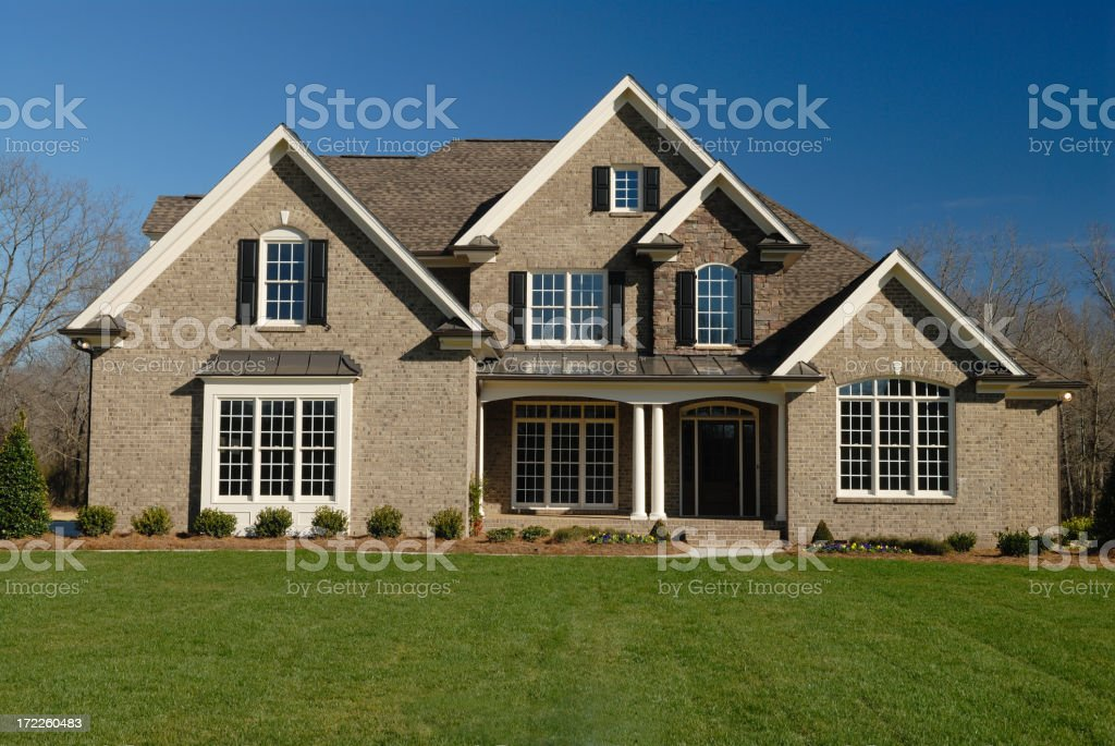 Large Executive Home royalty-free stock photo