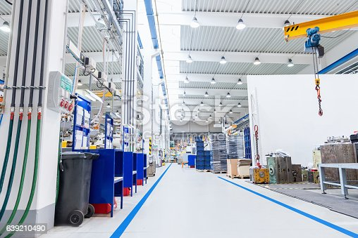 513948652 istock photo Large factory with equipment 639210490