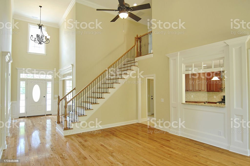 Large family room royalty-free stock photo