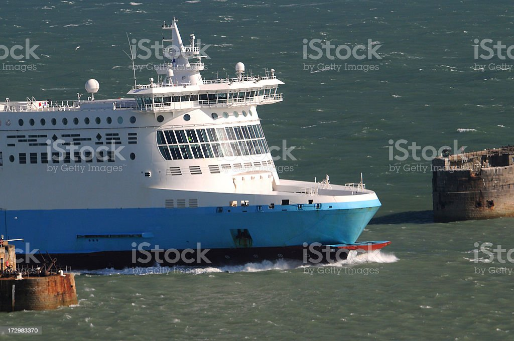 Large Ferry royalty-free stock photo