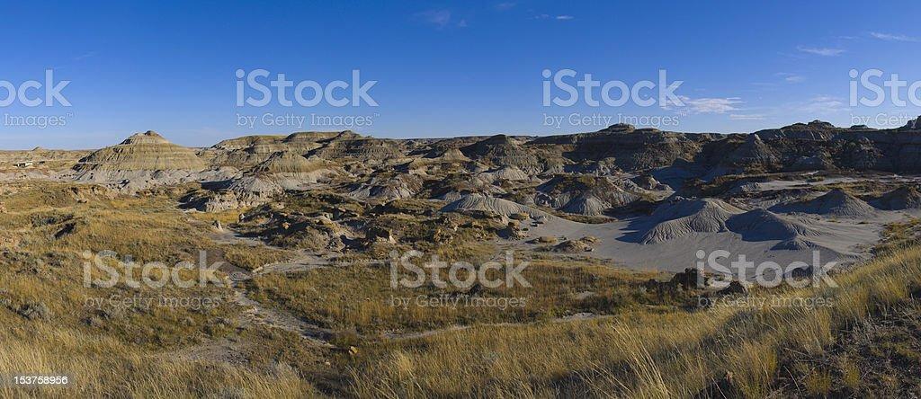 Large file size, Dinosaur Provincial Park stock photo