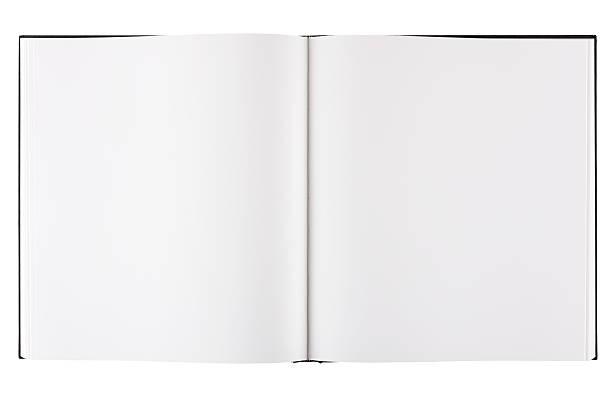 Formato grande em branco Livro de mesa de centro, com Traçado de Recorte. - foto de acervo