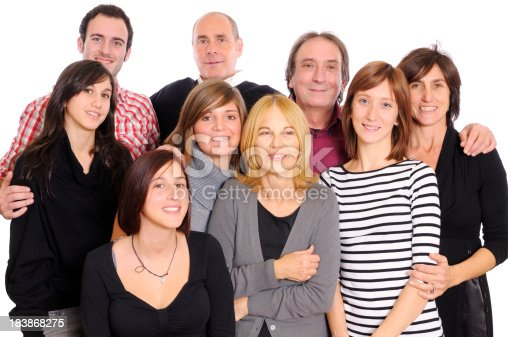 536775759istockphoto Large Group of Happy People,Family or Team,Isolated 183868275