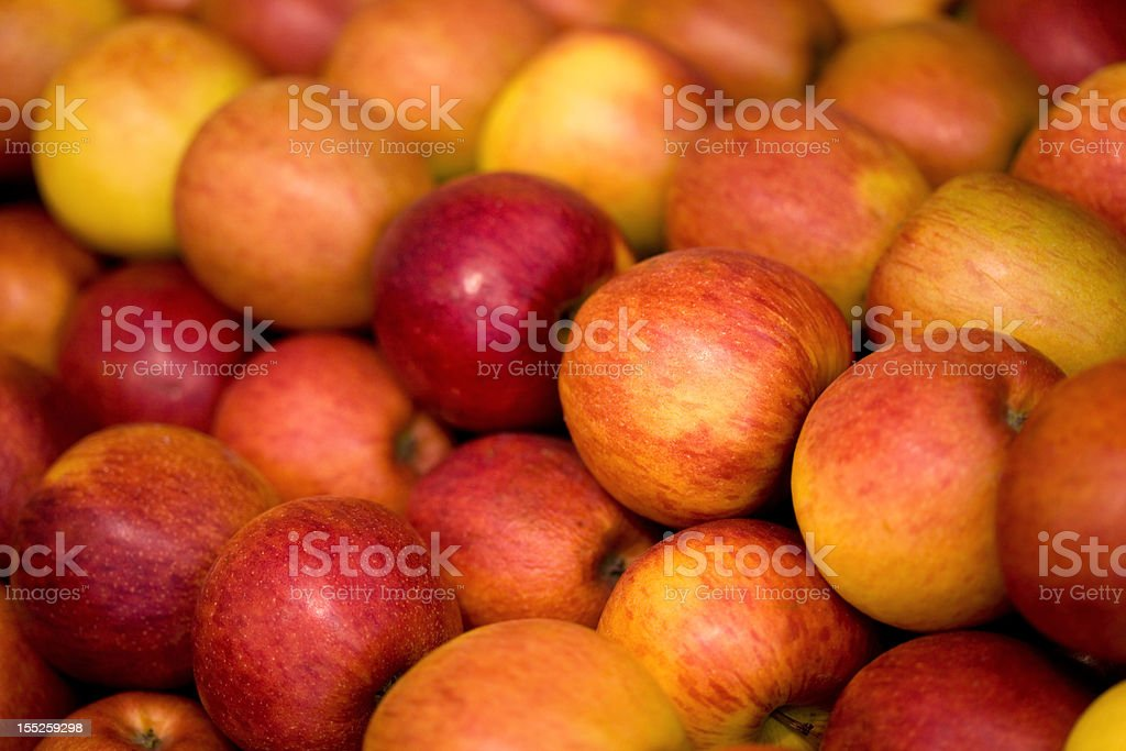large group of red apples background royalty-free stock photo