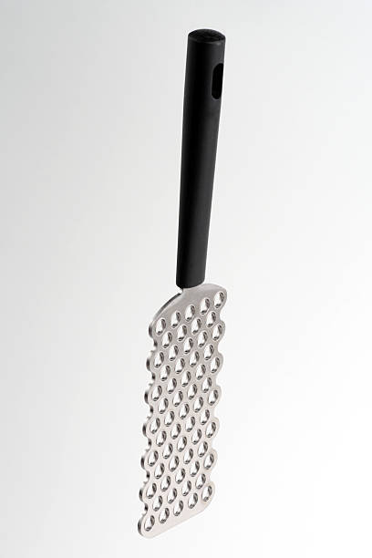 Large hole grater stock photo