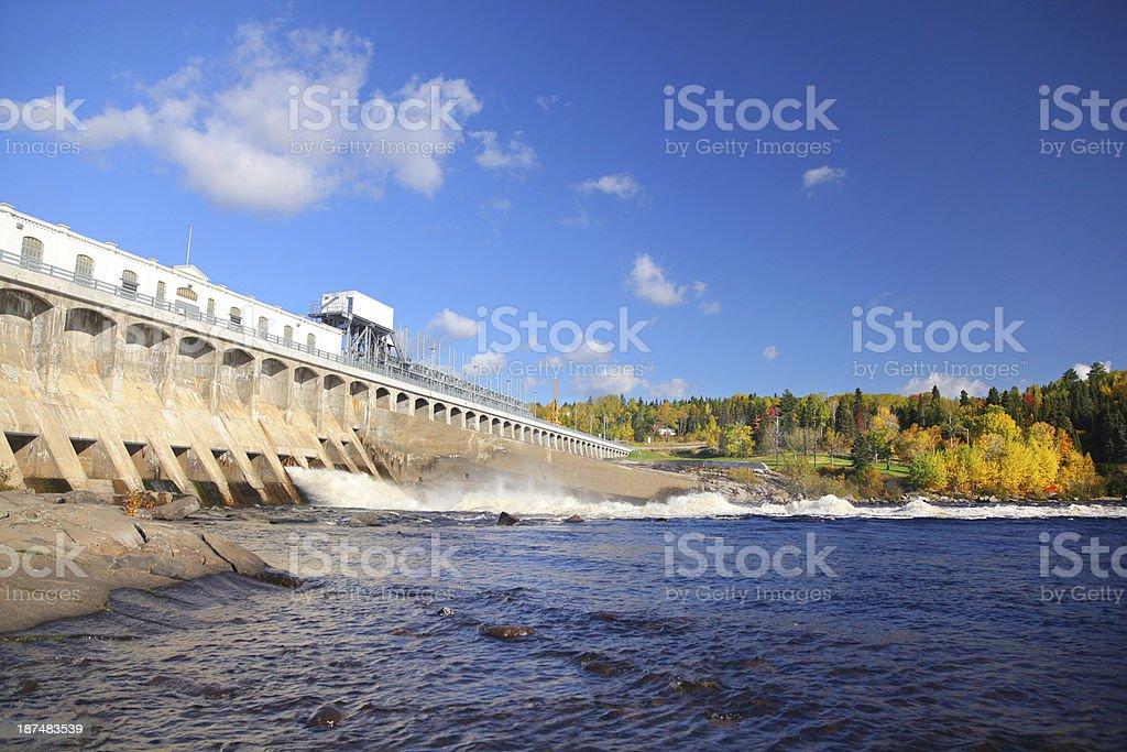 Large Hydro Electricity Dam stock photo