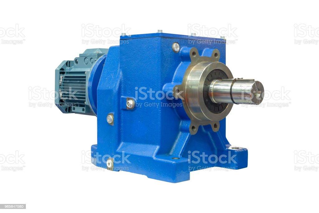Grote industriële motoren voor gebruik op industriële fabriek - Royalty-free Apparatuur Stockfoto