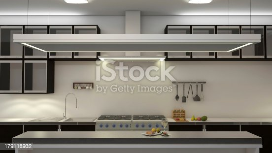 istock A large kitchen area with a stove 179118932
