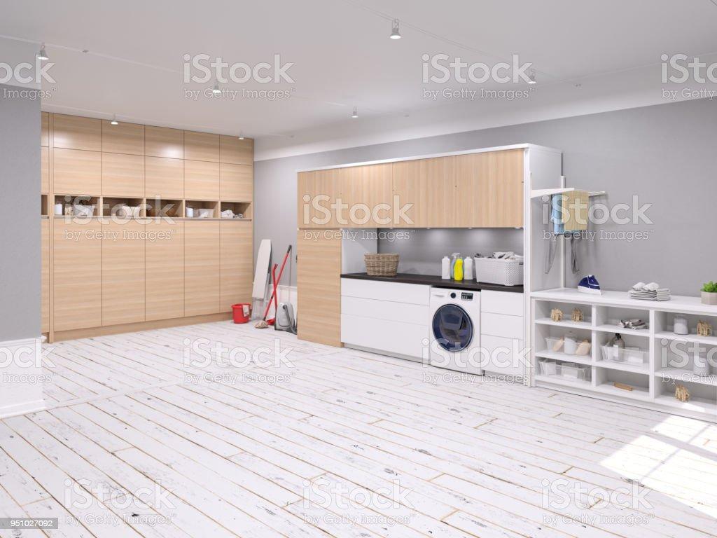Große Waschküche – Foto
