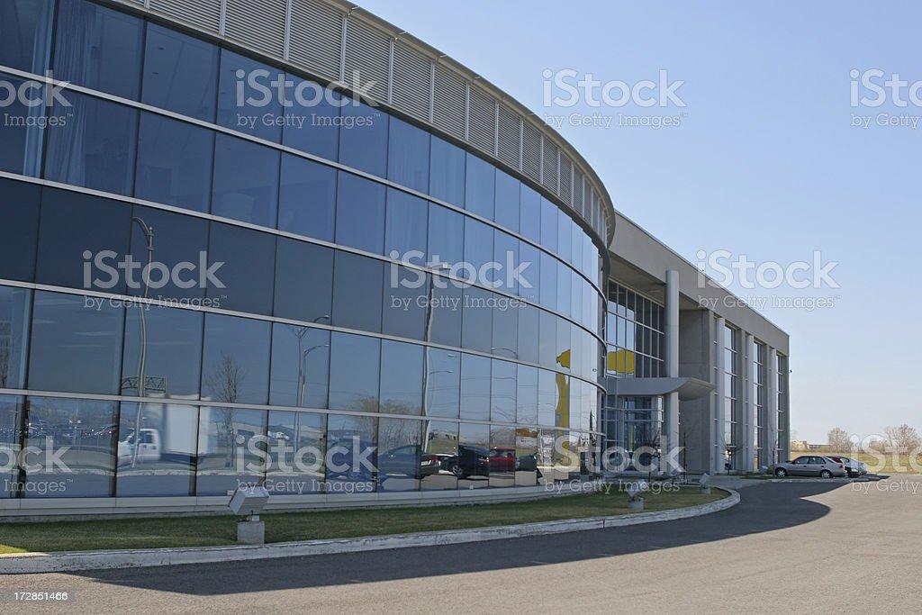 Large Mega Business Exterior royalty-free stock photo