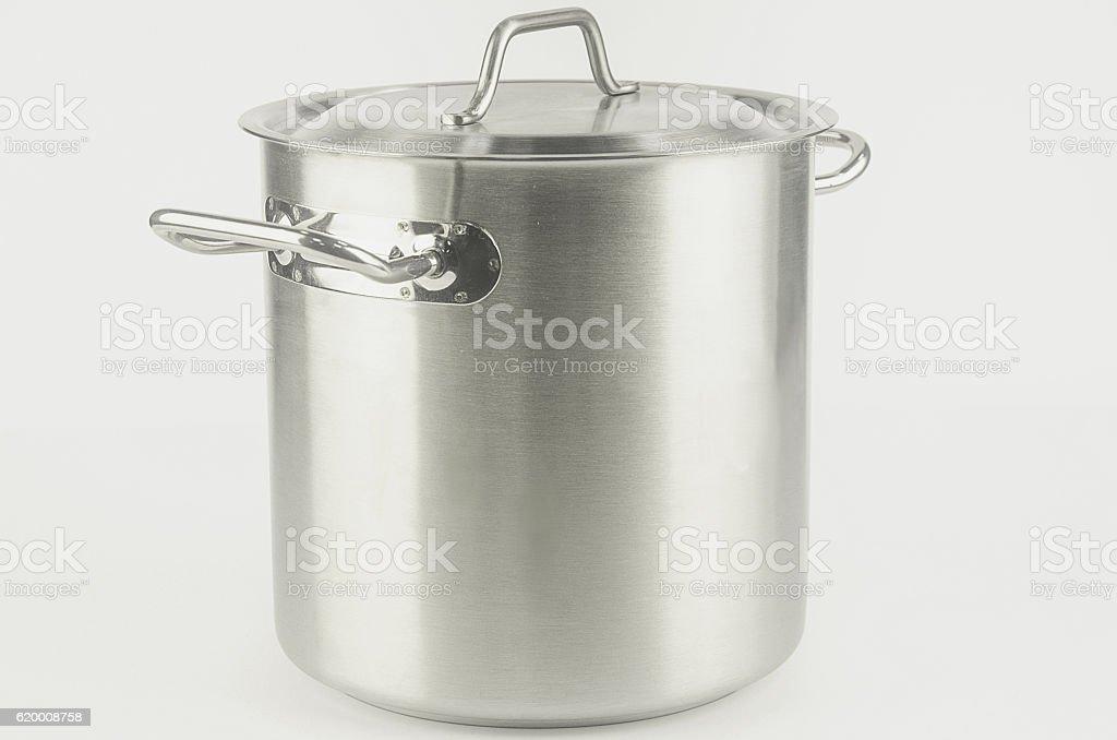 large metal pot foto de stock royalty-free