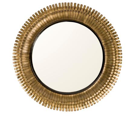 large metal circular mirror isolated on whitesimilar images: