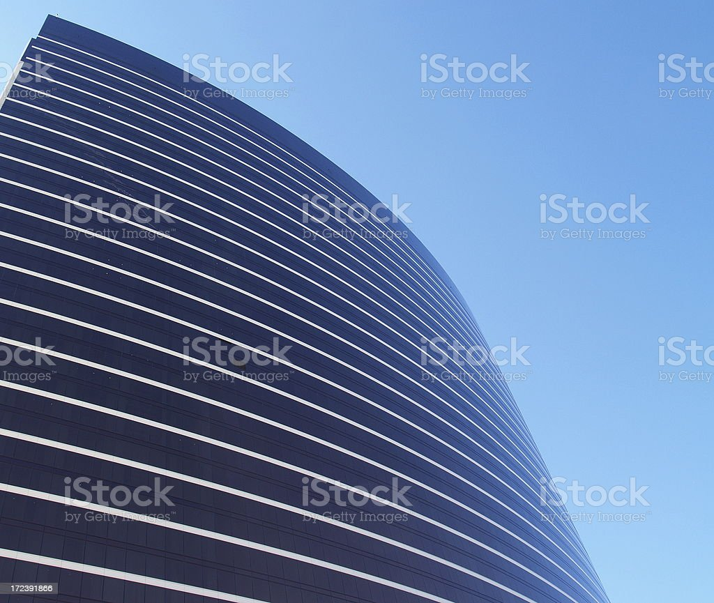 Large Modern Corporate Building royalty-free stock photo