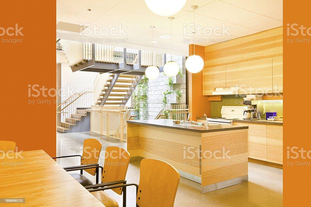 Large, Modern Kitchen stock photo