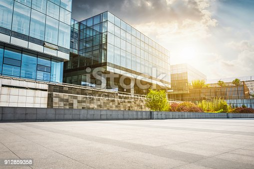 istock Large modern office building 912859358