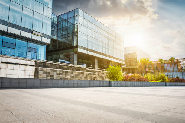 Large modern office building Large modern office building public building stock pictures, royalty-free photos & images