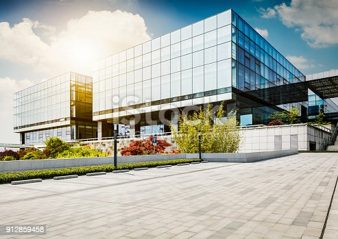 istock Large modern office building 912859458