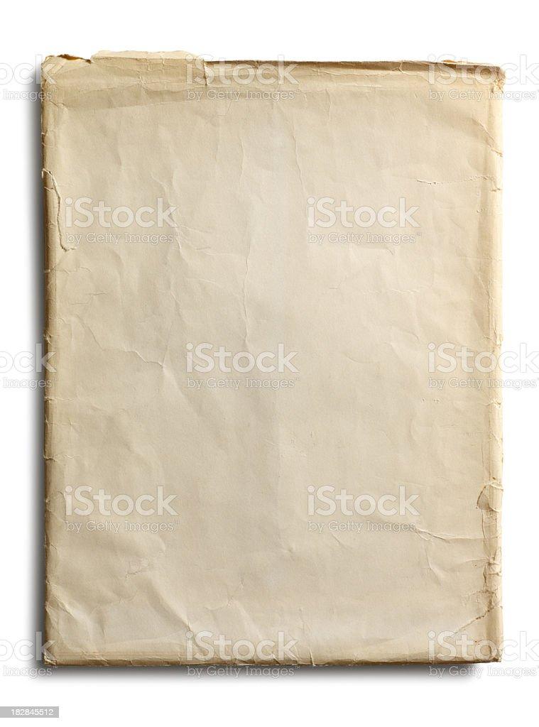 Large Old Envelope royalty-free stock photo