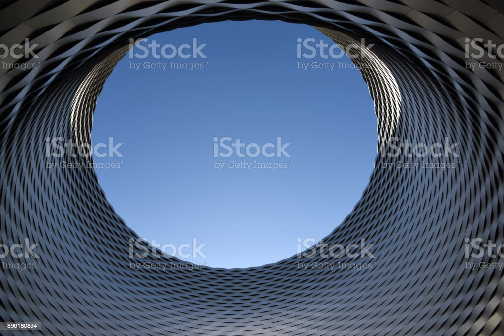 Large open Hall - Architectural Feature stock photo