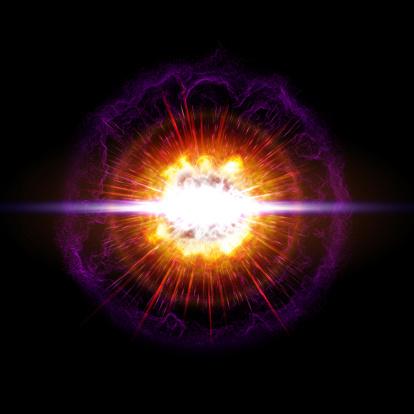 A supernova of an explosion