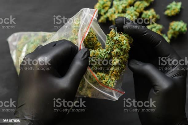 Stora Paketet Ogräs Cannabis-foton och fler bilder på Fotografi - Bild