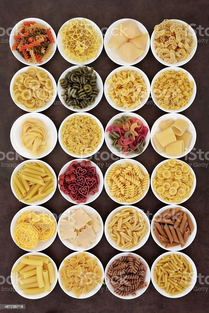 Large Pasta Collection stock photo