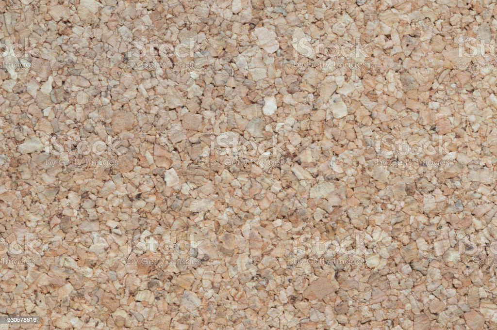 Large piece of corkboard suitable for use as background texture.The texture of the cork stock photo