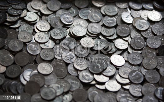 istock Large Pile of Coins 119456119