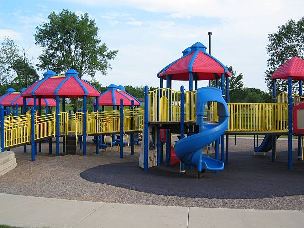 Large Playground stock photo