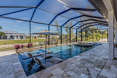 Cape Coral pool and home