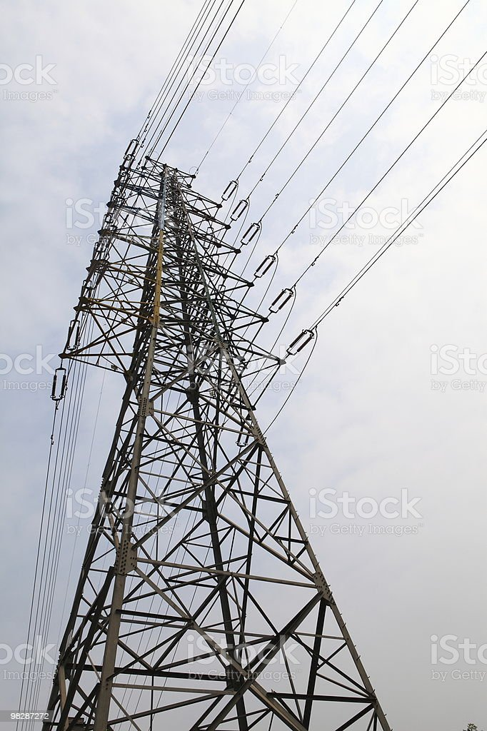 Large Powermast royalty-free stock photo