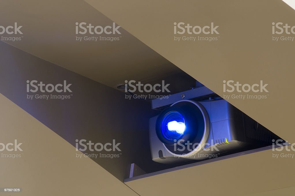 Large Projector royalty-free stock photo