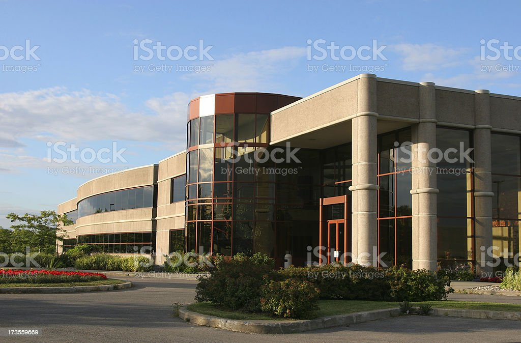 Large Prosperous Industry royalty-free stock photo
