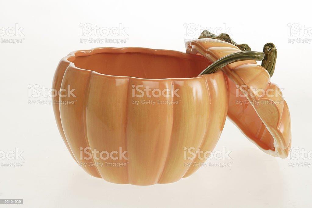 large pumpkin soup bowl royalty-free stock photo