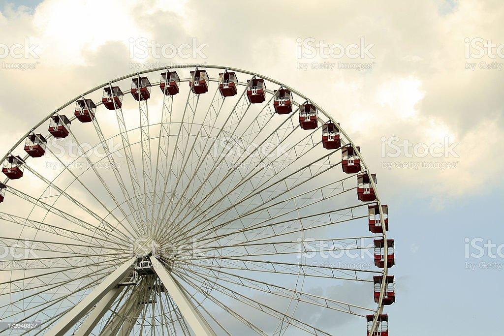 Große rote Riesenrad – Foto