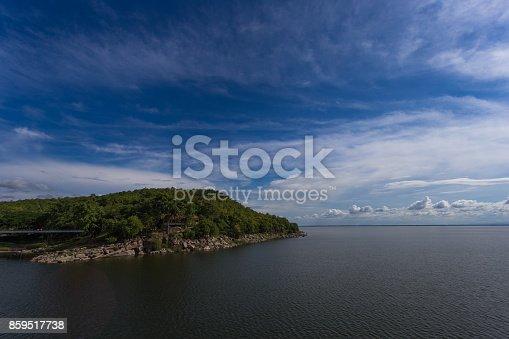 Large reservoir of Thailand