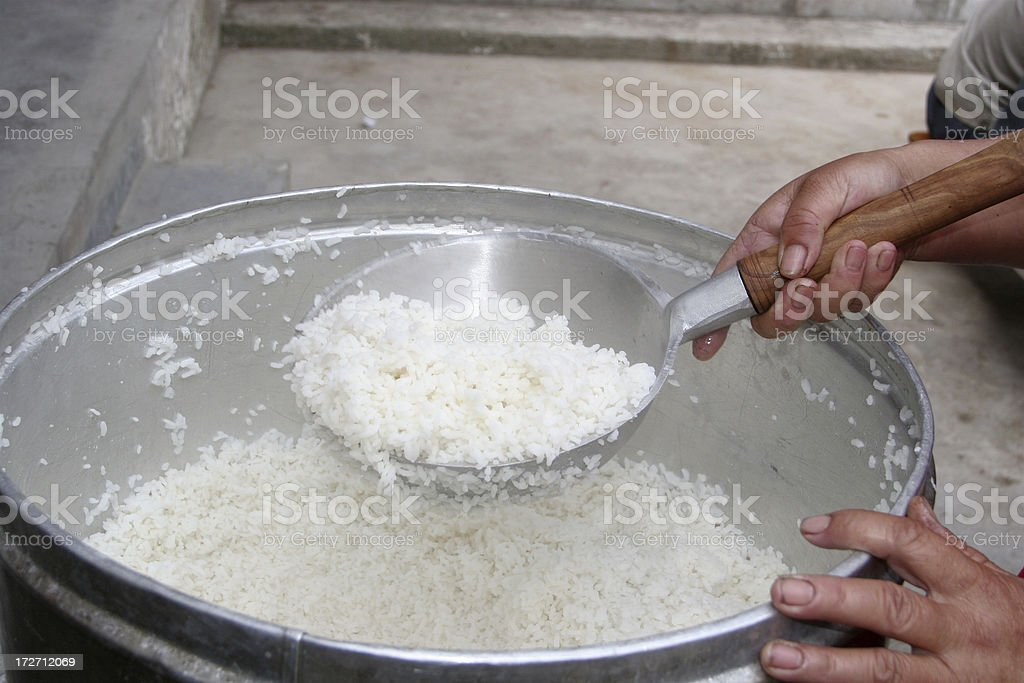 Large Rice Serving Bowl In China Stock Photo Download Image Now Istock