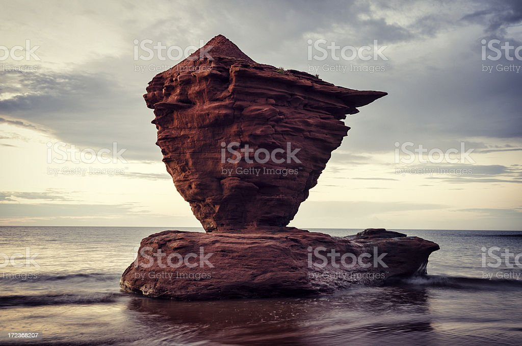 Large Rock Formation stock photo