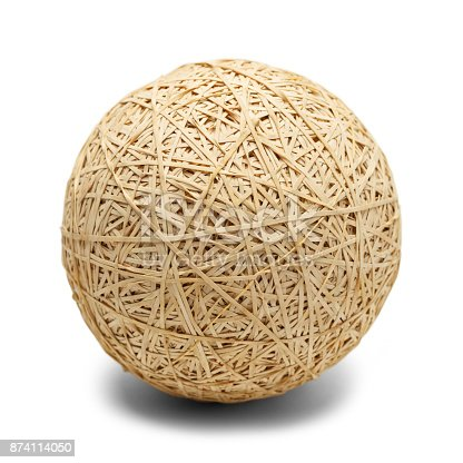 istock Large Rubber Band Ball 874114050