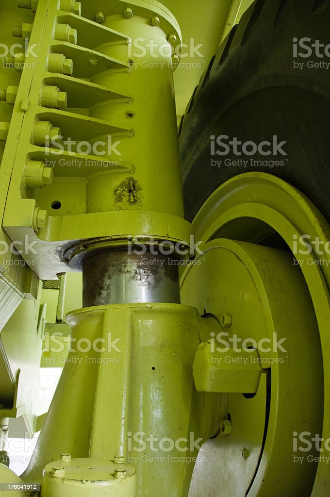 Large Shock Absorbers royalty-free stock photo