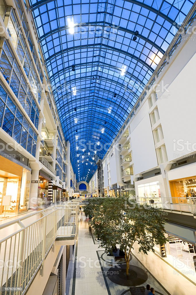 Large Shopping Mall royalty-free stock photo